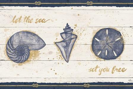 Calm Seas V by Janelle Penner art print