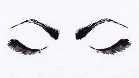 Eyelashes by Anne Seay art print
