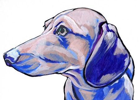 Dachshund by Anne Seay art print