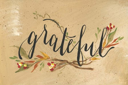 Grateful by Molly Susan Strong art print