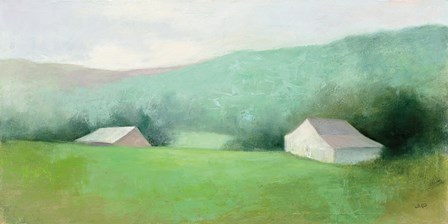 Looking Down the Valley by Julia Purinton art print