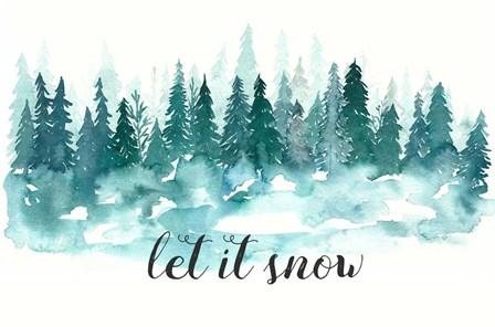 Let It Snow by Elise Engh art print