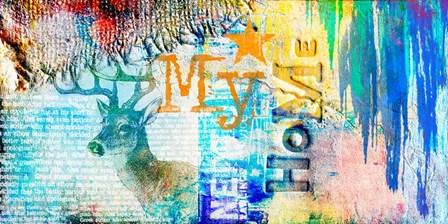 My Home by A.V. Art art print