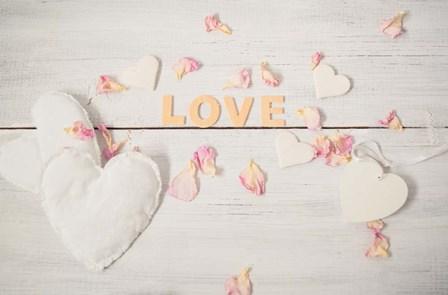 Still Life Hearts - Love by A.V. Art art print