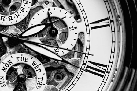 Clock II by A.V. Art art print