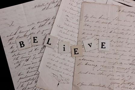 Believe by A.V. Art art print