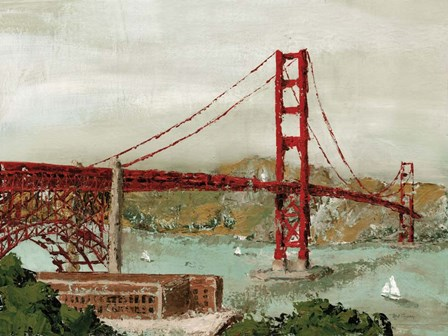 Golden Gate Bridge by Marie-Elaine Cusson art print