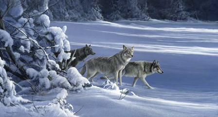The Strength Of The Wolf Is The Pack by Dr. Jeremy Paul art print