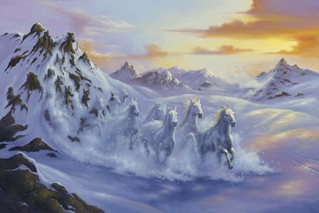 After The Storm by Jim Warren art print