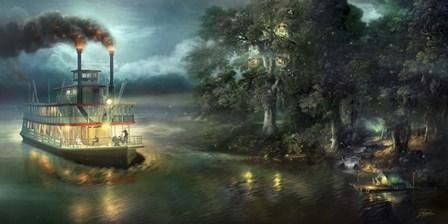 Playing Pirate by Joel Christopher Payne art print