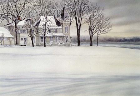 Iron House by John Morrow art print