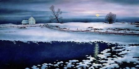 Moonrise Symphony by John Morrow art print