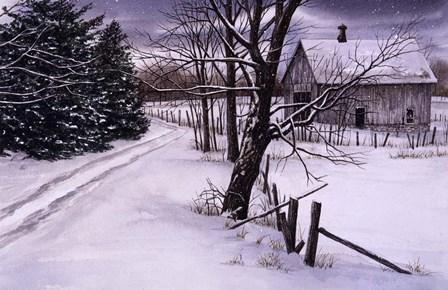 Through the Woods by John Morrow art print