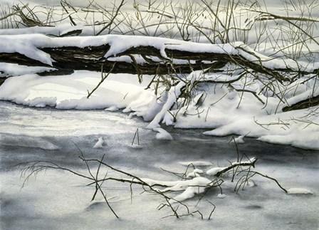 Winter Walk by John Morrow art print