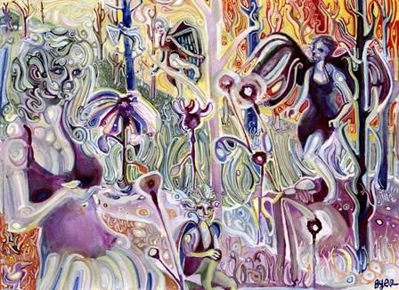 Fairies by Josh Byer art print