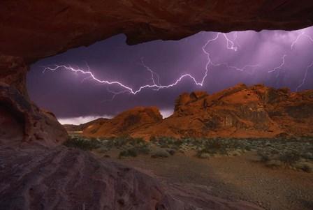 Desert Storm by Darren White Photography art print