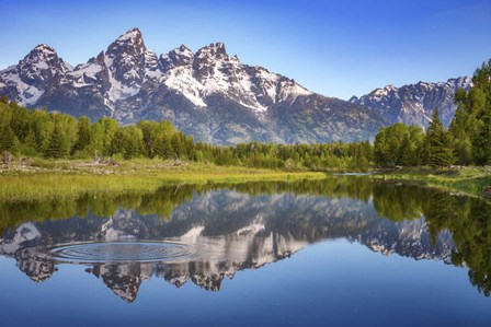 Ripples in the Tetons by Darren White Photography art print