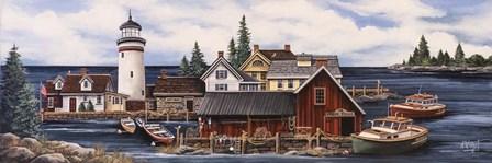 Wide Harbor by Debbi Wetzel art print