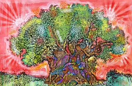 Tree of Life by Dean Russo- Exclusive art print