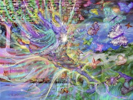 Butterfly Ballet by Stephanie Analah art print