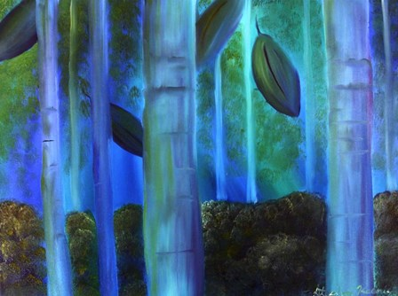 Simply Birch by Stephanie Analah art print