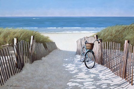 Beach Bike 2 by Zhen-Huan Lu art print