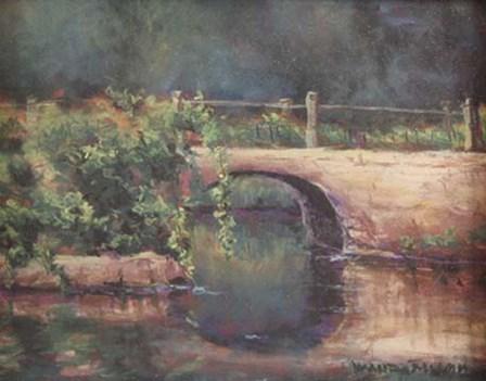 Bridge by Wanda Mumm art print