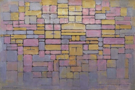 Tableau No. 2 by Piet Mondrian art print