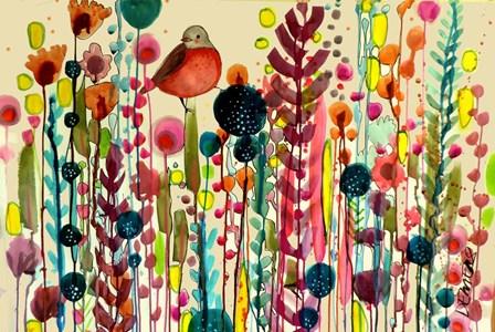 Fiesta by Sylvie Demers art print