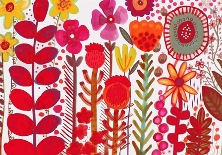 Rouge Love by Sylvie Demers art print