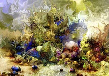 Coral Reef 32 by RUNA art print