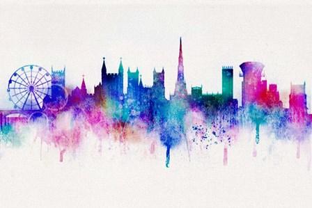 Cityscape 1 by ALI Chris art print
