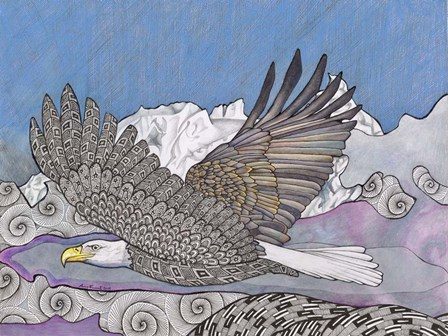 Flight Of The Eagle by Amy Frank art print