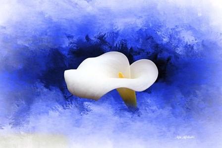A Flower by Ata Alishahi art print