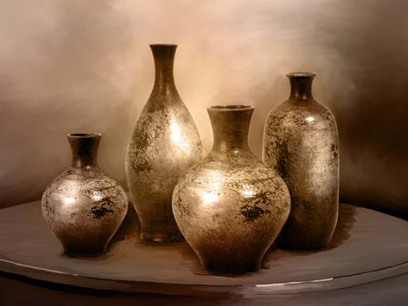Beautiful Vases by Ata Alishahi art print