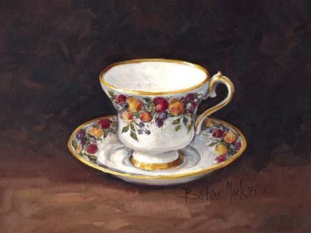 Fruit Teacup I by Barbara Mock art print