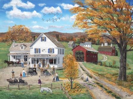 Rylies Merchantile by Bob Fair art print