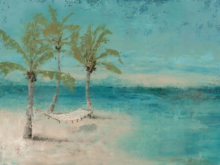 Beach Day Landscape II by Marie-Elaine Cusson art print