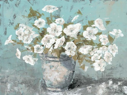 Morning Blossom Still Life by Marie-Elaine Cusson art print
