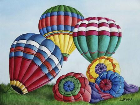 Going UP by Carol J Rupp art print