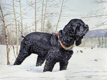 Too Much Snow by Carol J Rupp art print
