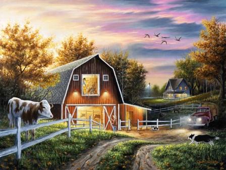 The Good Life by Chuck Black art print