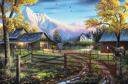 The Western Lifestyle by Chuck Black art print