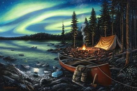 Campfire Memories by Chuck Black art print