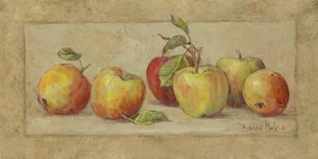Apple Fresco by Barbara Mock art print