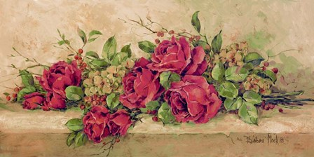 Roses to Remember by Barbara Mock art print