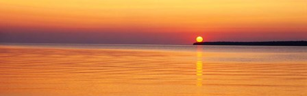 Sunset over Lake Superior, Wisconsin by Panoramic Images art print