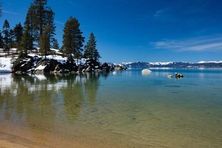 Scenic View of Lake Tahoe, California by Panoramic Images art print