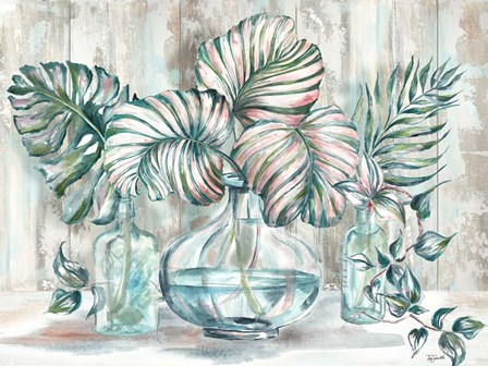 Island Tropics Still Life by Tre Sorelle Studios art print