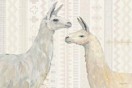 Llama Land I by Avery Tillmon art print